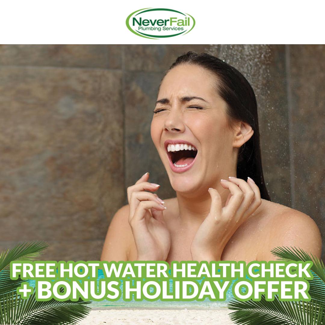 Free Hot Water Health Check